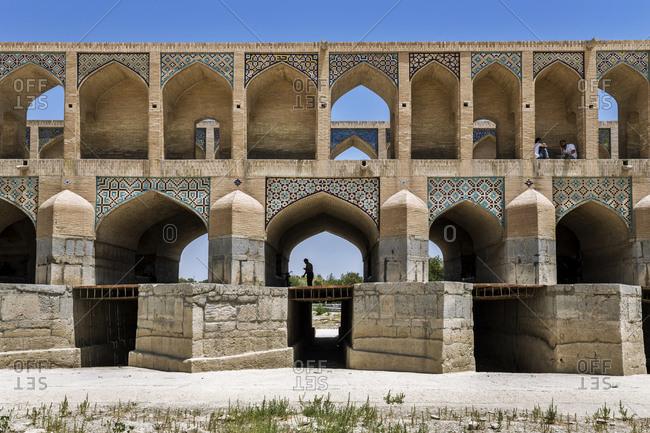 Iran- Isfahan Province- Isfahan- Si-o-se Pol Bridge