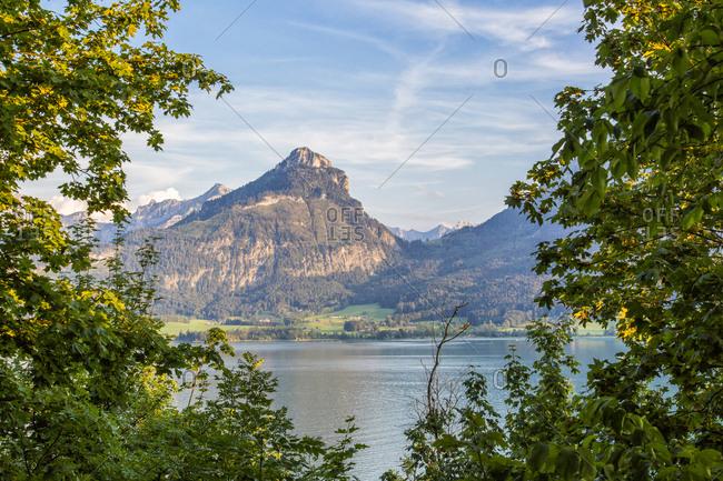 Austria- Salzburg State- Salzkammergut- St. Wolfgang at Lake Wolfgangsee