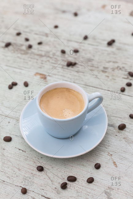 Cup of espresso with crema