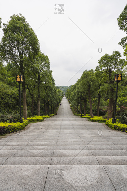 China- Sichuan Province- Way to Dazu Rock Carvings