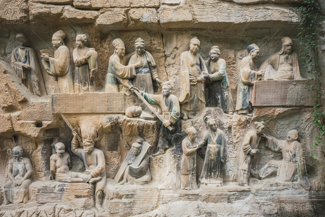 China- Sichuan Province- Dazu Rock Carvings