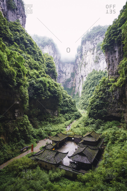 China- Sichuan Province- Wulong Karst National Geology Park