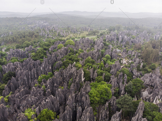 China- Shilin- Stone forest