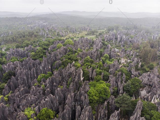 China- Shilin- Stone forest