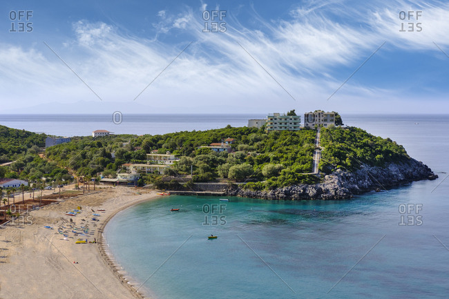 Albania- Ionean sea- Albanian Riviera- beach of Jal near Himara