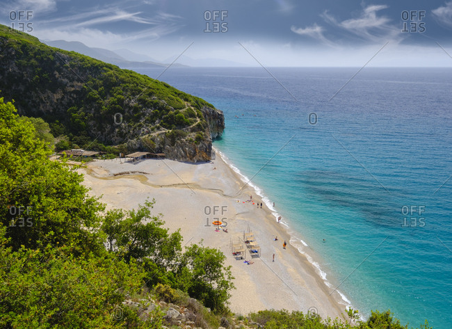 Albania- Ionean sea- Albanian Riviera- beach of Gjipe