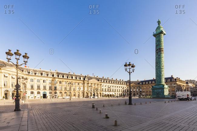 France- Paris- Place Vendome- Victory Column- Colonne Vendome