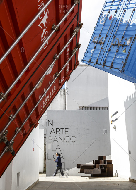 January 29, 2018: Collection de Art de la Republica, Art Collection of the Bank of the Republic, Bogota, Colombia.