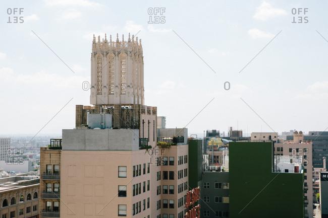 Buildings in downtown Los Angeles
