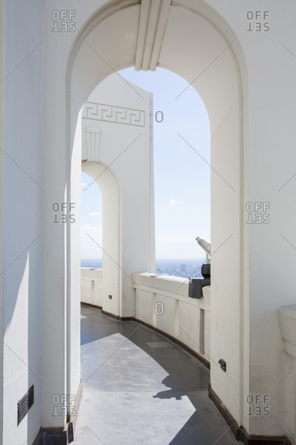 Arches at Griffith Observatory, Los Angeles, California