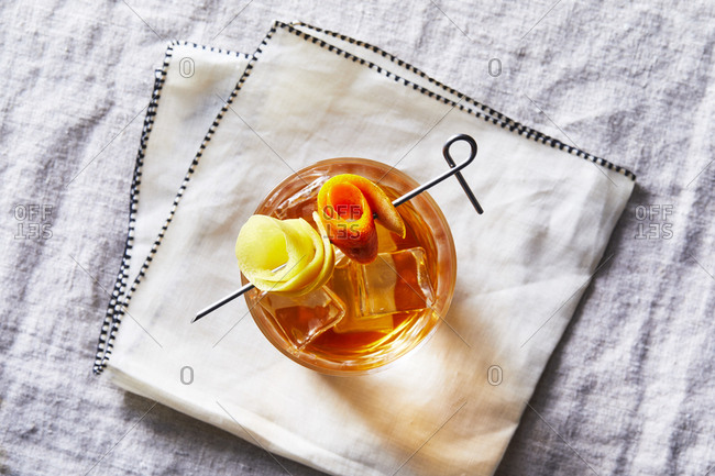 Classic old fashion recipe
