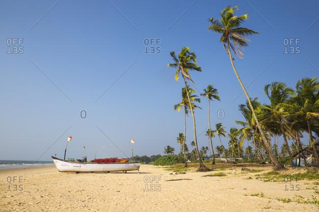 December 8, 2017: Colva Beach, Goa, India, Asia