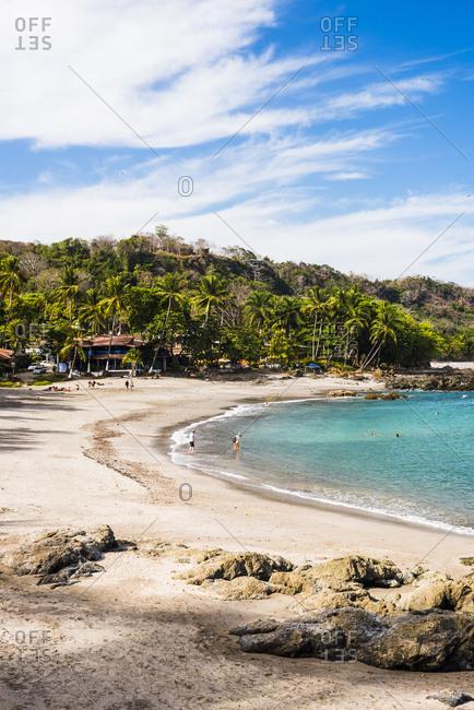 March 19, 2017: Montezuma Beach, Nicoya Peninsula, Puntarenas, Costa Rica, Central America