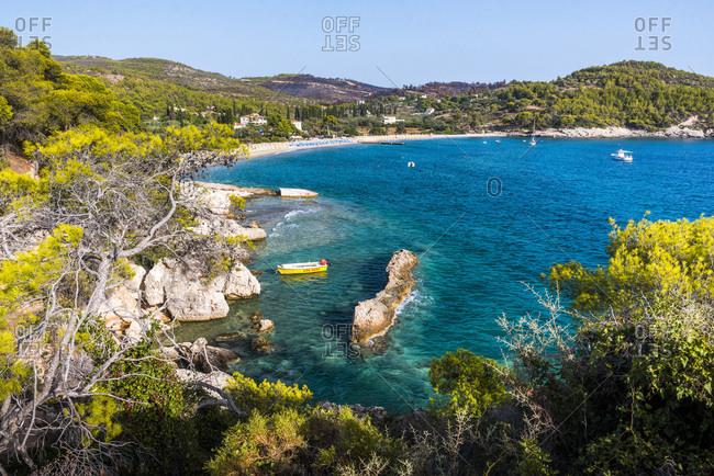 Spetses, Saronic Islands, Attica Region, Aegean Coast, Greek Islands, Greece, Europe