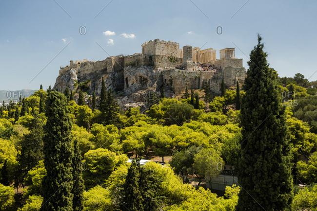 Acropolis, UNESCO World Heritage Site, Athens, Attica Region, Greece, Europe
