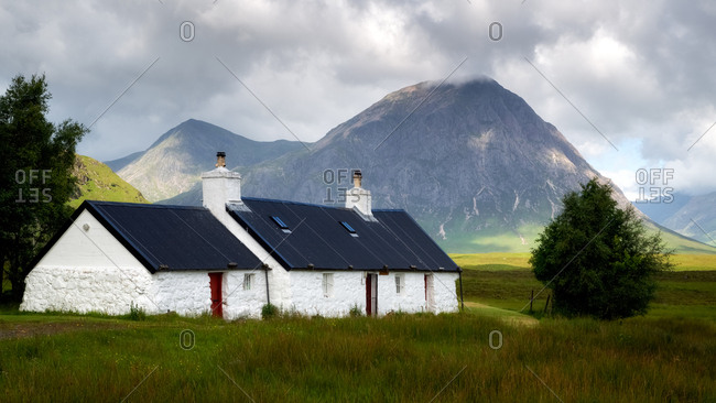 Blackrock Cottage, Glencoe, Scotland, United Kingdom, Europe