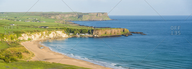 White Park Bay Beach, County Antrim Coast, Ulster, Northern Ireland, United Kingdom, Europe