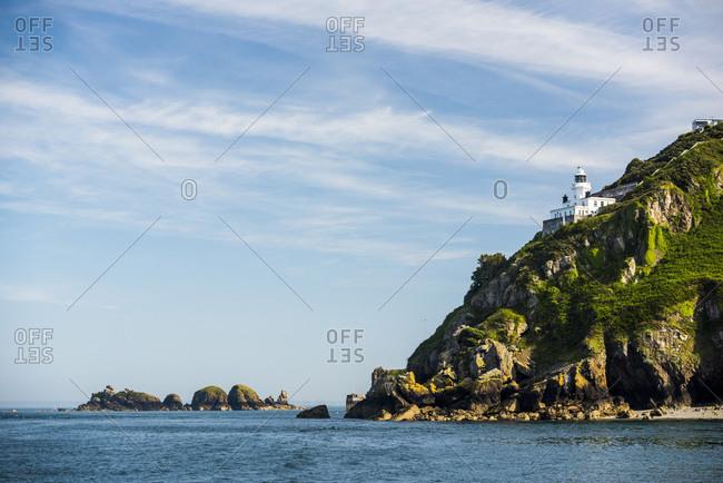 Lighthouse, Sark Island, Channel Islands, United Kingdom, Europe