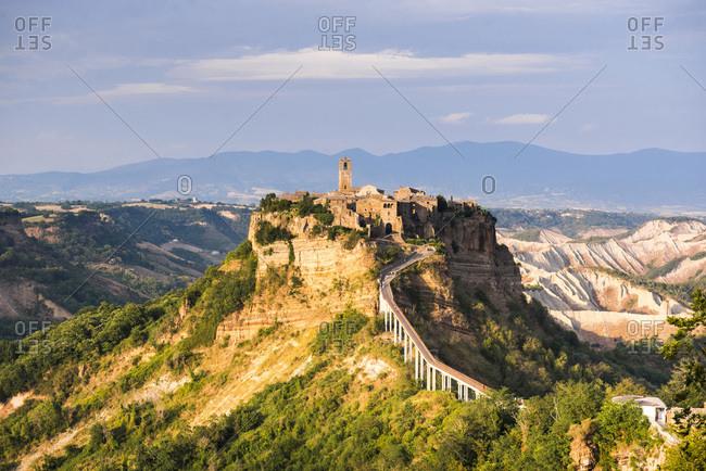 Civita di Bagnoregio, Province of Viterbo, Lazio, Italy, Europe