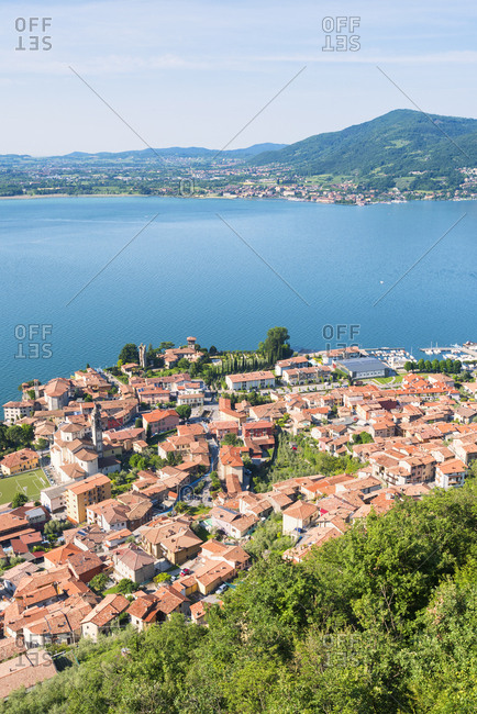 Predore, Iseo Lake, Bergamo province, Lombardy district, Italy, Europe