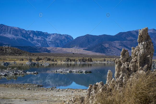 USA, California, Mono Lake, South tufa