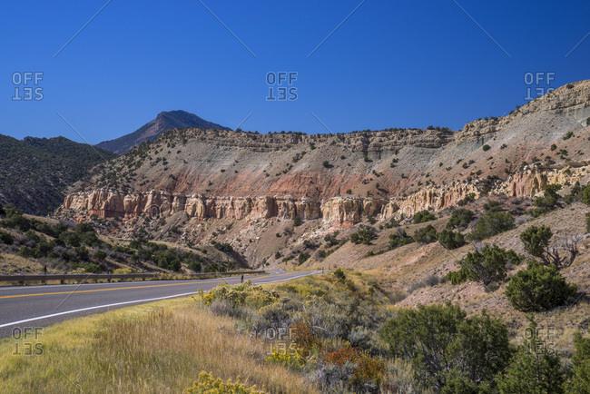 USA,  Utah, Sheep Creek Canyon  Geological Loop