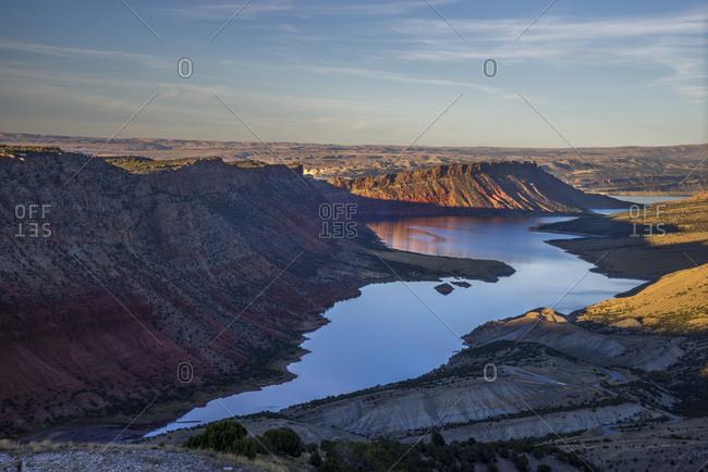 USA, Utah , Flaming Gorge National Recreation Area , Sheep Creek Overlook