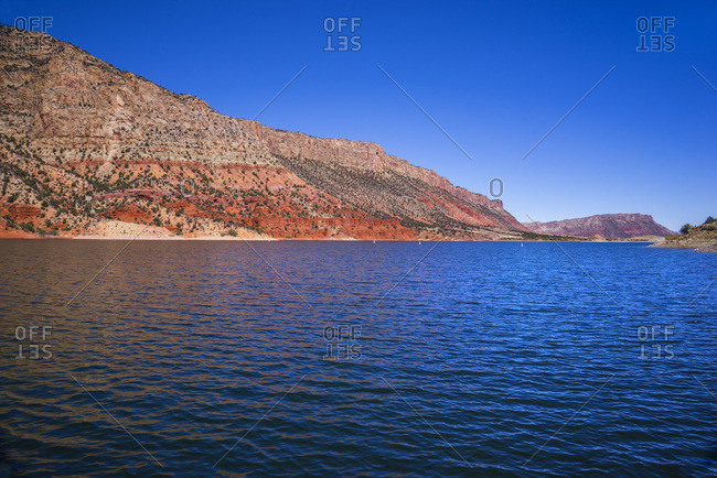 USA, Flaming Gorge National Recreation Area Utah