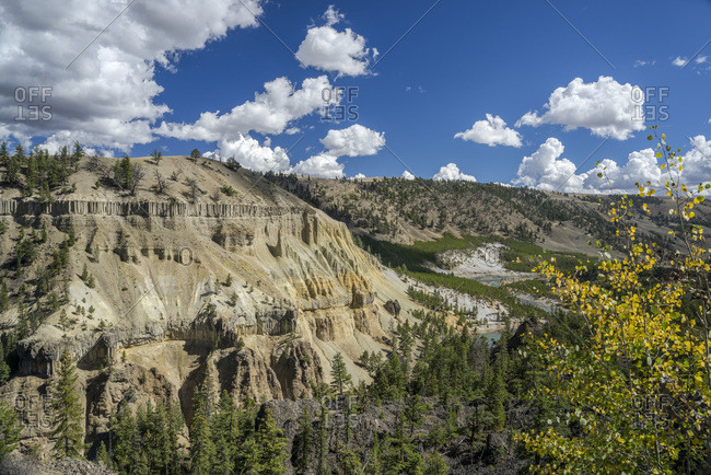 USA, Wyoming, Yellowstone National Park, UNESCO World Heritage List