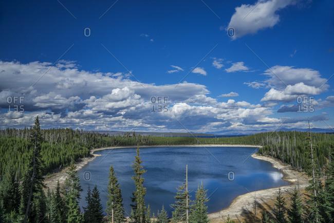 USA, Wyoming, Yellowstone National Park, Shoshone Lake, UNESCO World Heritage List