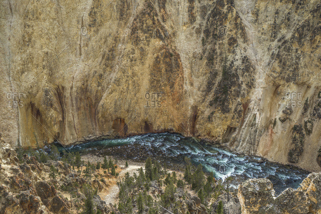 USA, Wyoming, Grand Canyon of the Yellowstone, Yellowstone National Park,  UNESCO World Heritage List