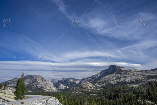 USA, California, Yosemite National Park, Olmsted Point,