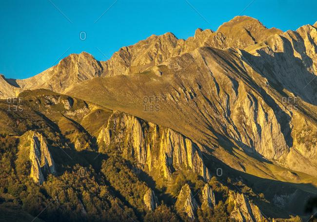 France, Pyrenees National Park, Occitanie region, Val d'Azun, Pic du Grand Gabizos (2,691 meters)