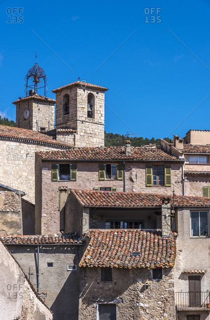 France, Provence-Alpes-Cote-d'Azur, Var, Seillans (Plus Beaux Villages de France, a list of villages designated as les plus beaux (the most beautiful) in France)