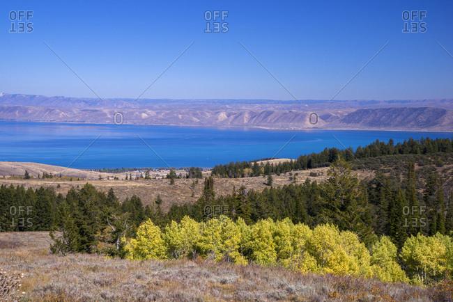 USA, Utah, Rich County, Idaho,  Bear Lake County, Bear Lake