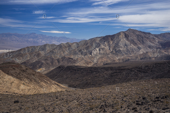 USA, California, Nevada, Death Valley