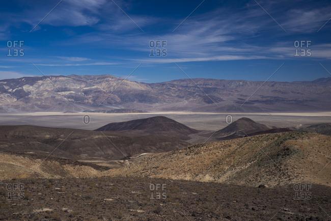 USA, California, Nevada, Death Valley