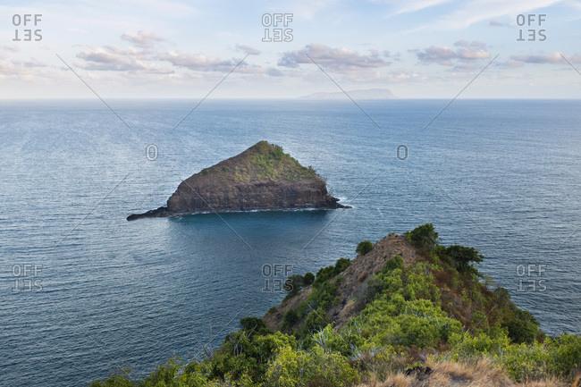 Anakee islet off Atuona, Hiva Oa, Marquesas Islands, French Polynesia