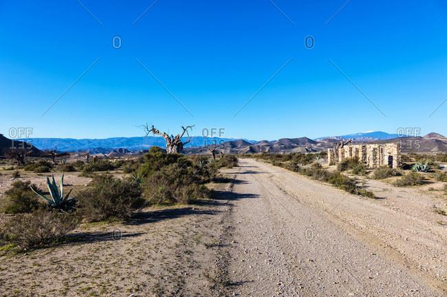 Tabernas Desert, Almeria, Andalusia, Spain
