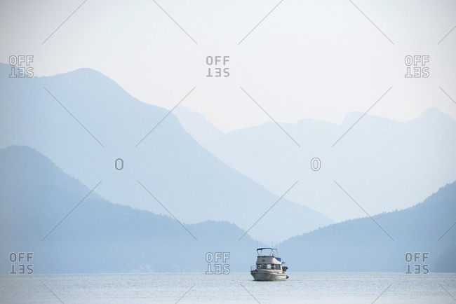 Desolation Sound area of southern coastal British Columbia, Canada