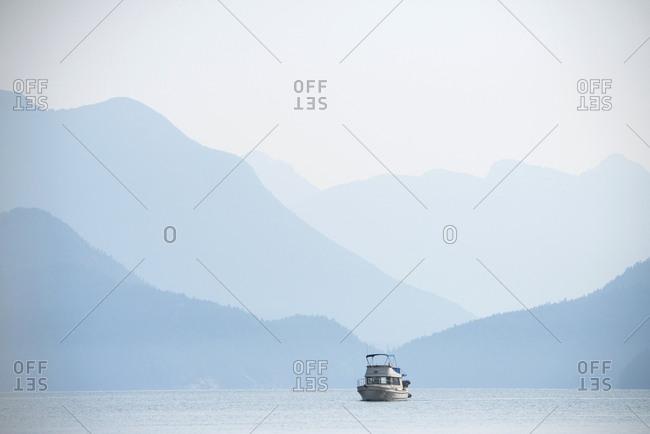 Desolation Sound area of southern coastal British Columbia, Canada