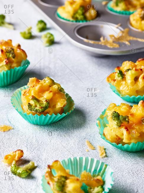 Muffin tin Mac and cheese