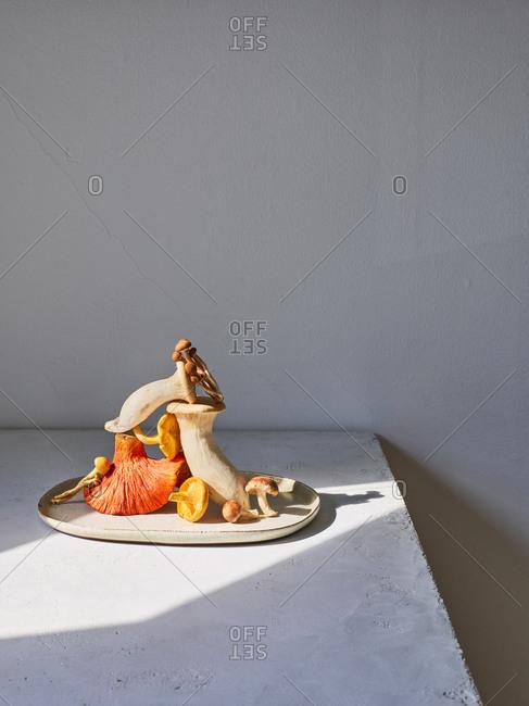 Sonoma mushroom sculpture