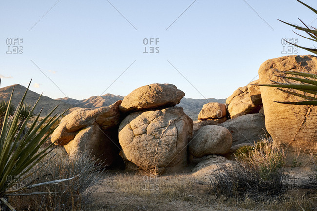 Rocks at Joshua Tree National Park, California