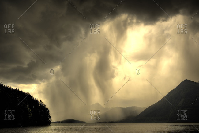Storm over the Walchensee