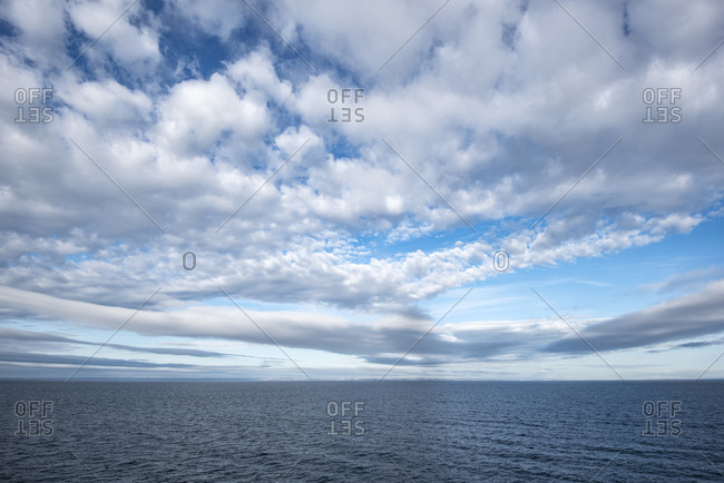 Netherlands- North Sea and clouds