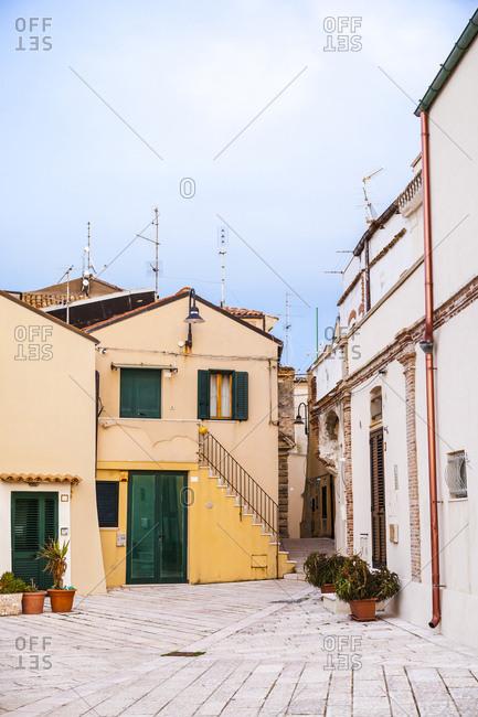 Italy- Molise- Termoli- Old town