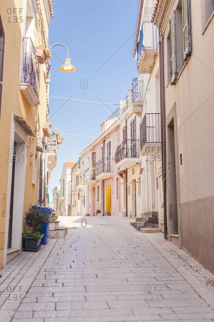 Italy- Molise- Termoli- Old town- empty alley