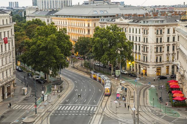 K�rntner Ring/Schubertring, Vienna, Austria