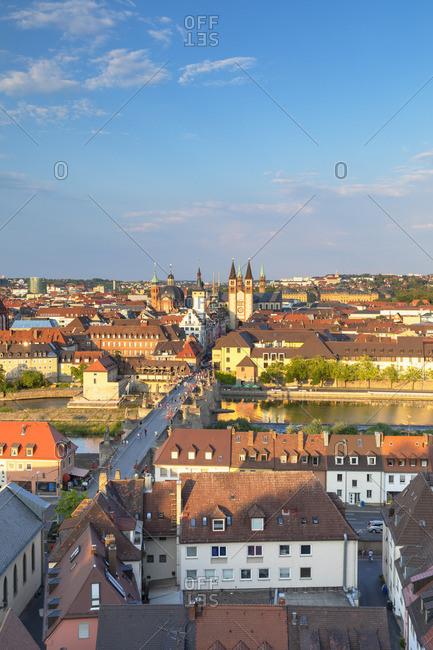 View of Wurzburg, Bavaria, Germany